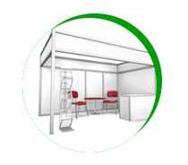 Проектирование и изготовление торговой мебели в Красноярске