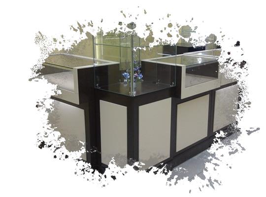 Проектирование и изготовление мебели для торговли Красноярск